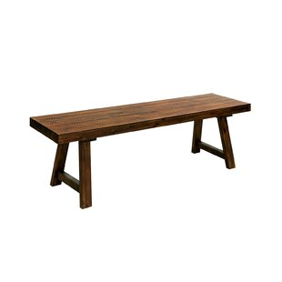 Braxton Wood Bench by Millwood Pines