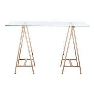 Jakayla Glass Writing Desk