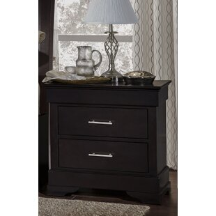 Mcmahon 2 Drawer Nightstand by Alcott Hill
