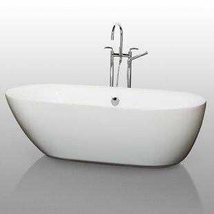 Melissa 71 x 33 Soaking Bathtub ByWyndham Collection