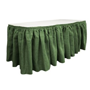 Merveilleux Fabric Table Skirts | Wayfair