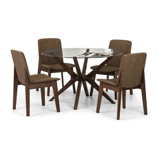 Tachevah Dining Set With 4 Chairs By George Oliver