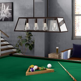 Allena 4-Light Pool Table Light By Williston Forge