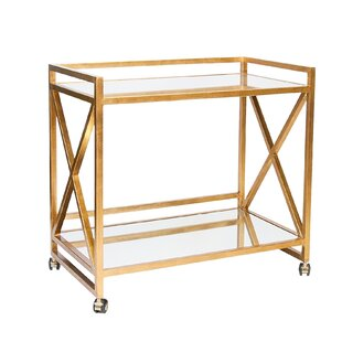 Everly Quinn Ross Bar Cart