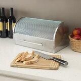 Prep & Savour Stainless Steel Bread Box