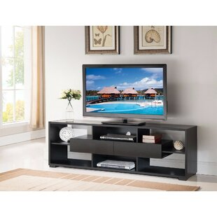 Read Reviews Dudek Elegant TV Stand for TVs up to 70 by Latitude Run Reviews (2019) & Buyer's Guide