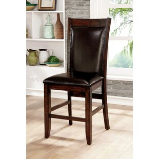 Electra Upholstered Dining Chair (Set of 2) Loon Peak