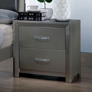 Knight 2 Drawer Nightstand