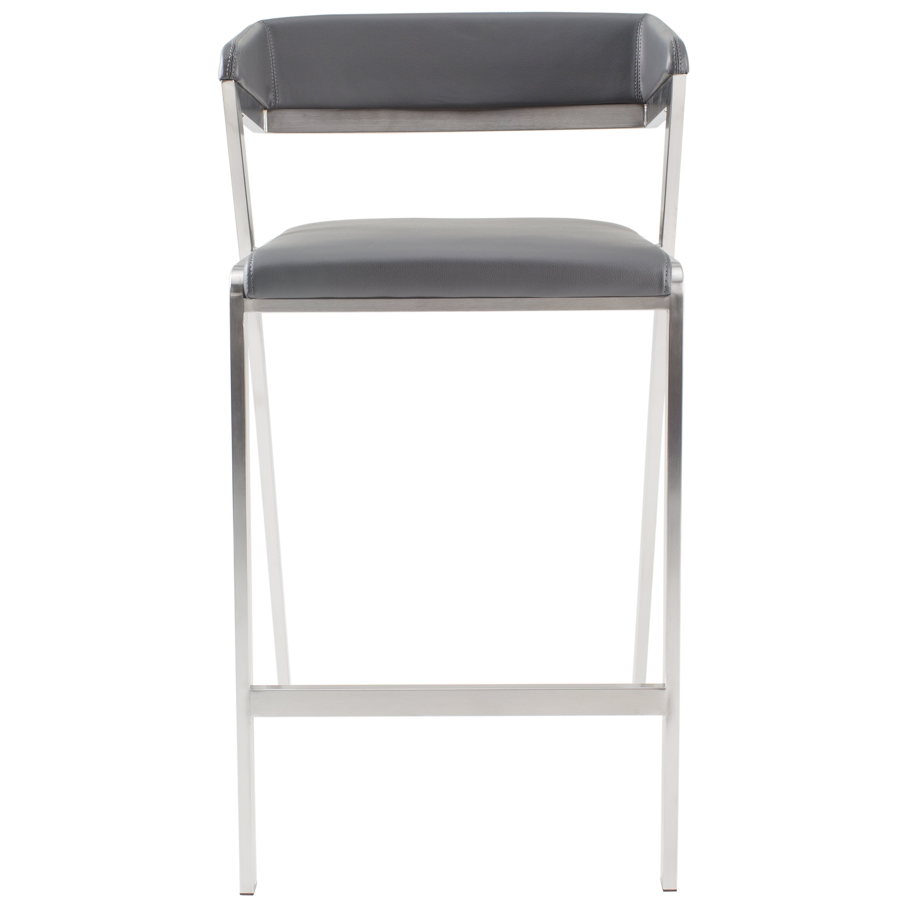 Surprising Deschamps Low Back 27 Bar Stool Evergreenethics Interior Chair Design Evergreenethicsorg