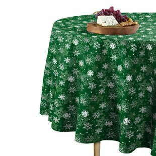 78 X 58 Christmas Tablecloths Table Runners You Ll Love In 2021 Wayfair