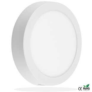 Mack Panel Wall Ceiling 1-Light LED Flush Mount