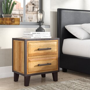 Harrah's 2 Drawer Nightstand
