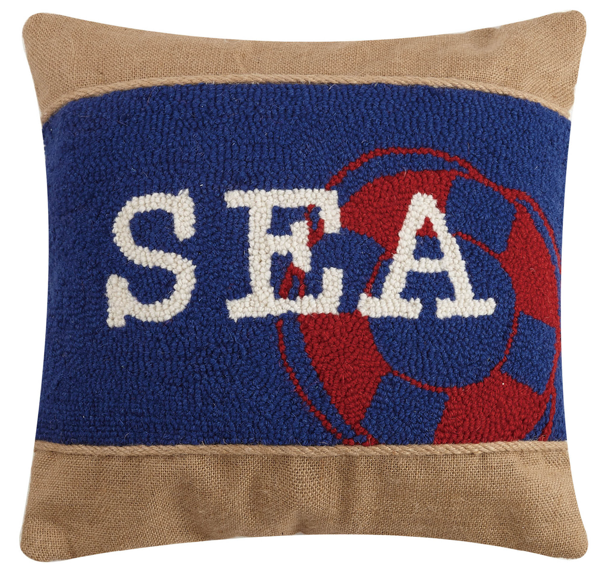 Breakwater Bay Santabarbara Sea Hook Wool Throw Pillow Wayfair