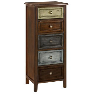 Weddle 5 Drawers Accent Chest by Bloomsbury Market SKU:BD263092 Details