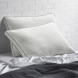 Mirabelle Medium Down Alternative Jumbo Pillow (Set of 2)