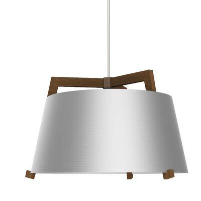 Ignis 3-light Cone Pendant Cerno Finish: Oiled Walnut/brushed Aluminum