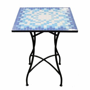 Gosney Mosaic Square End Table by Fleur De Lis Living