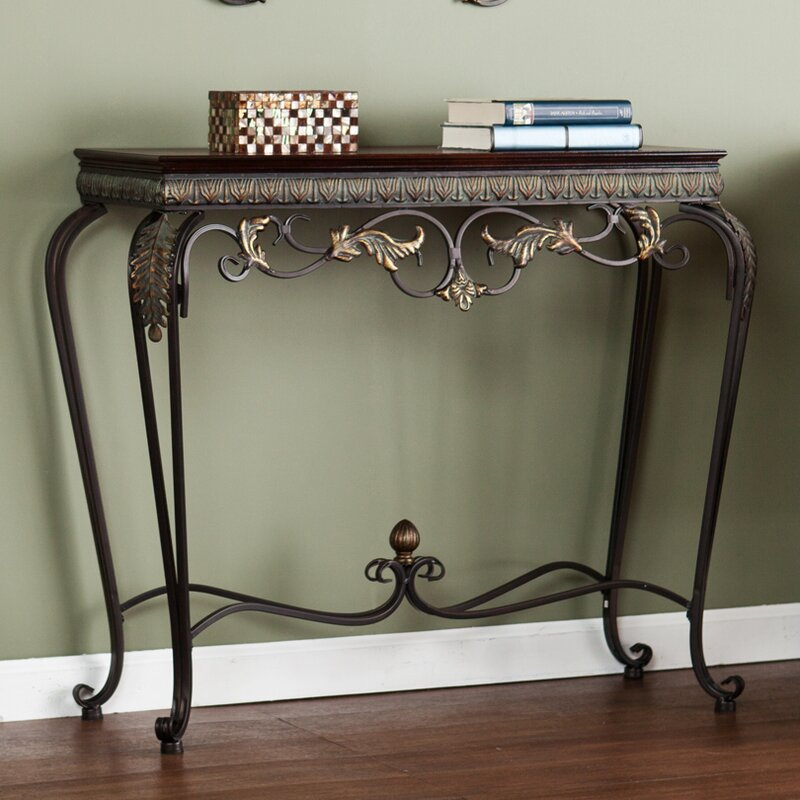 Byrd 4 Piece Console Table and Mirror Set & Alcott Hill Byrd 4 Piece Console Table and Mirror Set u0026 Reviews ...