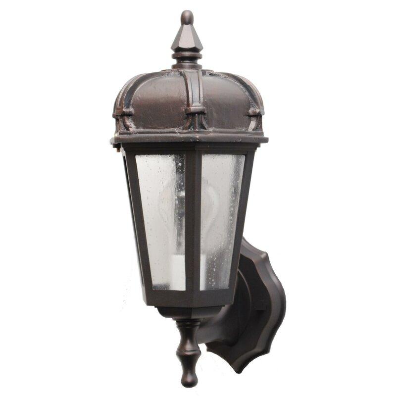 Charlton Home Flannigan 1 Bulb Outdoor Wall Lantern Wayfair