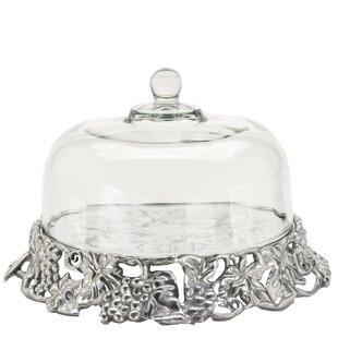 Glass Cake Plate With Dome Wayfair