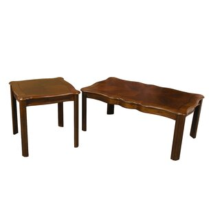 Grunewald 2 Piece Coffee Table Set
