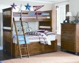 Bryce Canyon Bunk Bed with Drawers by LC Kids