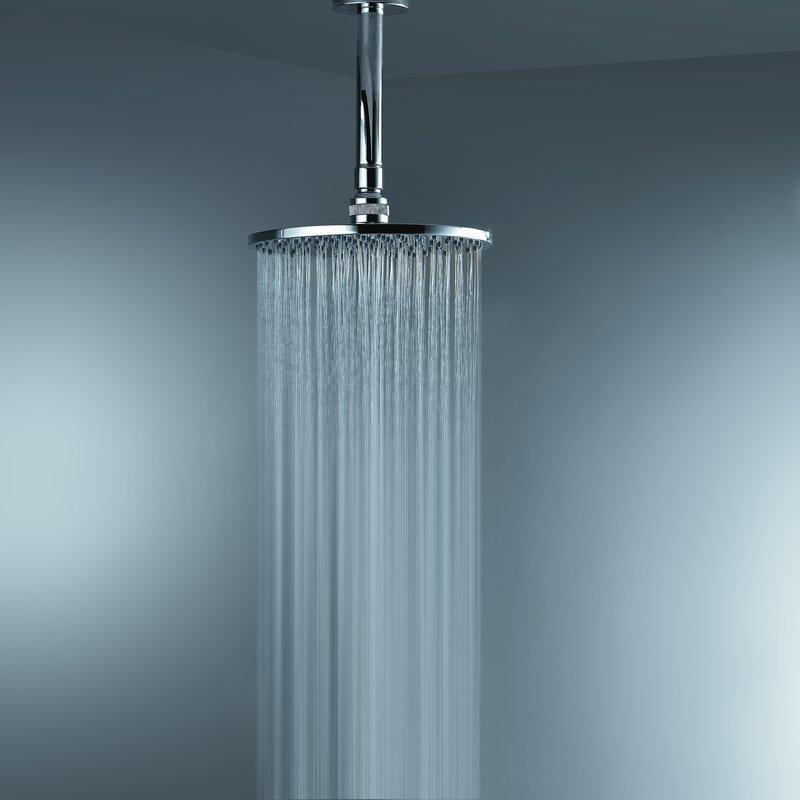 Default nameArtos Opera Ceiling Mount Rain Shower Head   Reviews   Wayfair. Rain Shower Head From Ceiling. Home Design Ideas