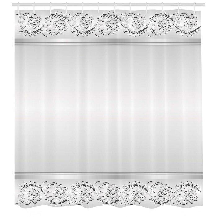 Retro Shower Curtain Set Hooks