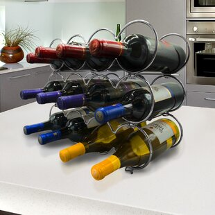 Kinch Detachable Round 12 Bottle Tabletop Wine Rack