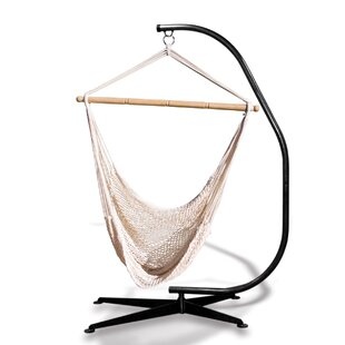 Hammaka Suelo Stand Cotton Chair Hammock with Stand