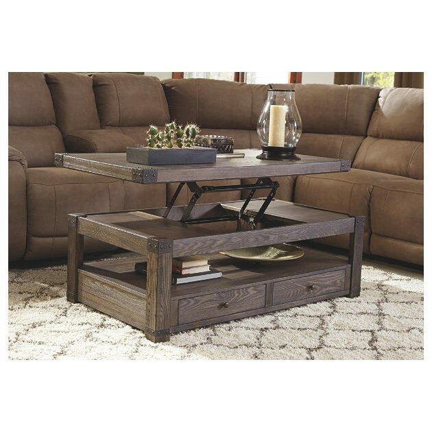 loon peak bryan coffee table with lift top & reviews   wayfair supply