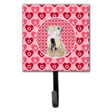 Wheaten Terrier Soft Coated Leash Holder and Wall Hook by Caroline's Treasures