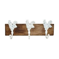 Rooster Wall Mounted Coat Rack by Artisanal Creations