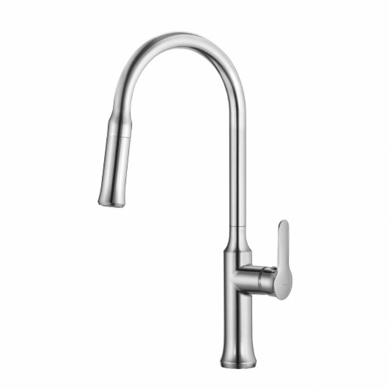 improvement boost handle moen and kitchen pull single faucet touchless pdx with touch down reflex brantford power home