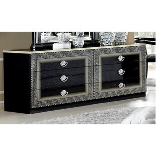 Inexpensive 6 Drawer Double Dresser by Noci Design