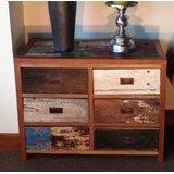Barnes 6 Drawer Double Dresser by Loon Peak®