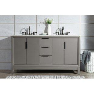 Tappahannock 60 Double Bathroom Vanity Set ByIvy Bronx