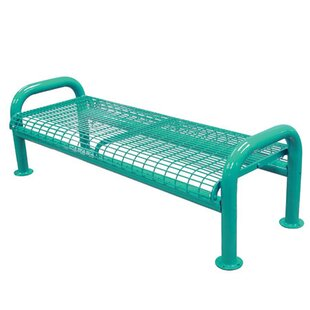 U-Leg Metal Picnic Bench