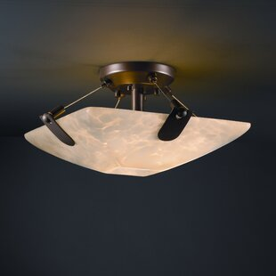 Miguelangel 2-Light Semi Flush..