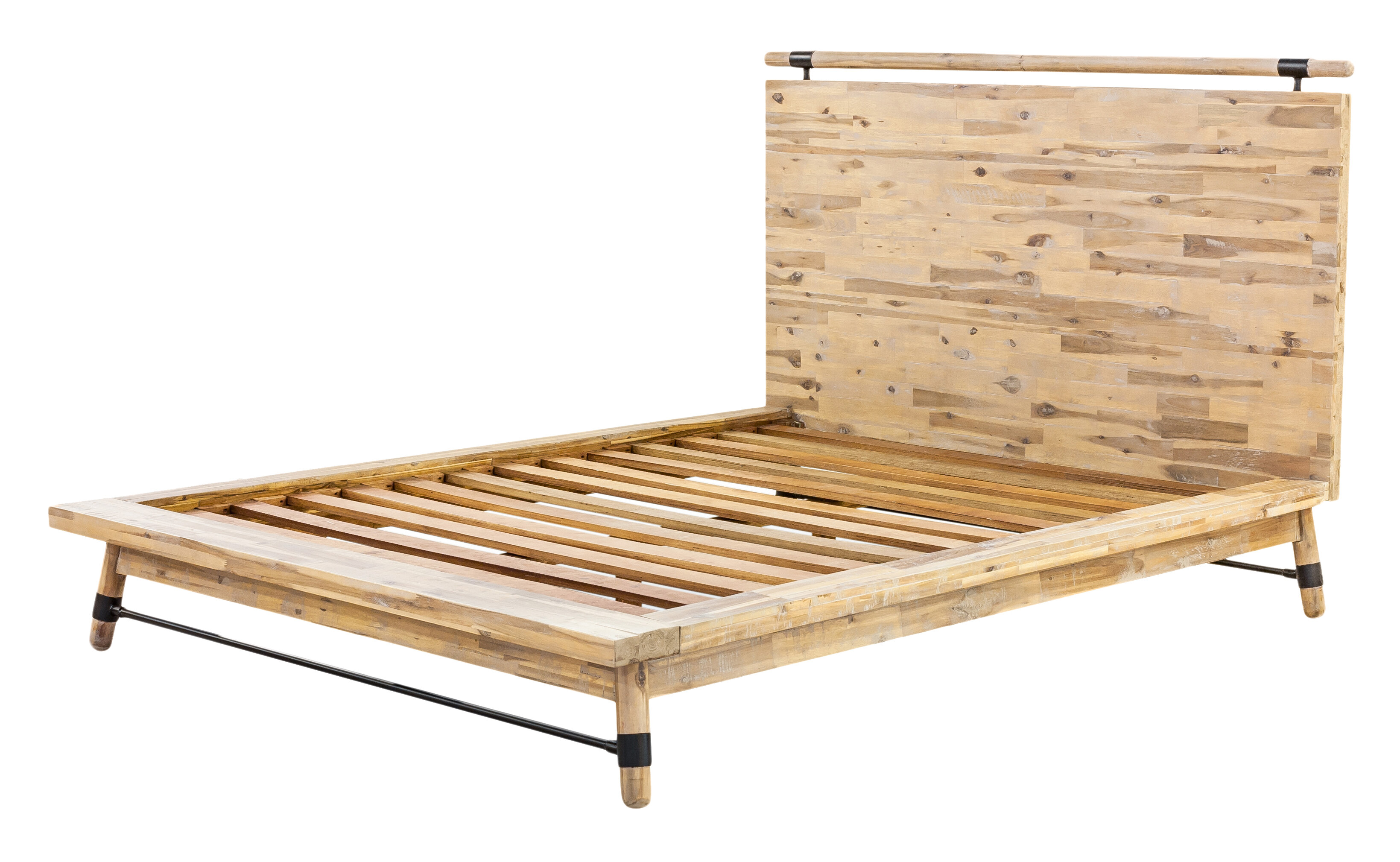 Moe S Home Collection Hudson Solid Wood Platform Bed Reviews Perigold