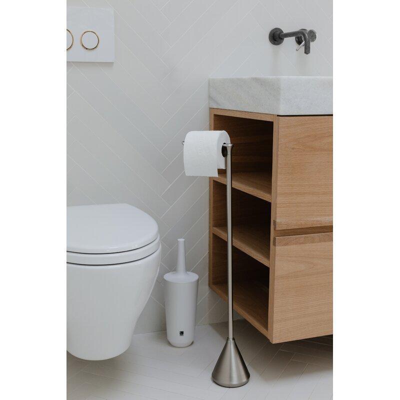 Stream Freestanding Toilet Paper Holder