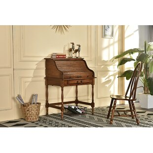 Lonie Roll Top Secretary Desk