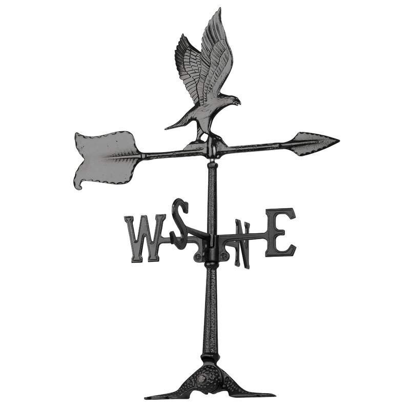 """Whitehall 24/"""" Duck Accent Weathervane SAME DAY /& FREE SHIP with Mount No Rust!"""