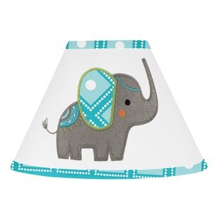 Mod Elephant 10 Cotton Empire Lamp Shade
