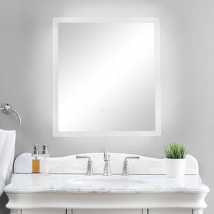Price Check Spring Street Illuminated Bathroom/Vanity Mirror By Orren Ellis