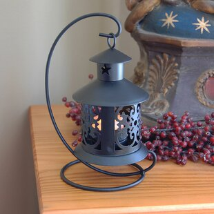 Tabletop Metal Lantern (Set Of 2)