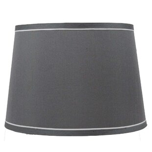 Gray Silver Chrome Lamp Shades You