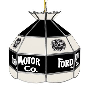 Trademark Global Vintage 1903 Ford 1-Light Pool Table Lights Pendant