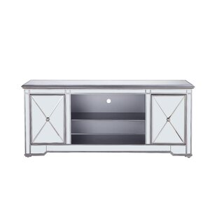 Bargain Lilianna Mirrored TV Stand for TVs up to 60 by House of Hampton Reviews (2019) & Buyer's Guide