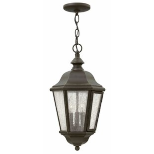 Compare prices Christiane 3-Light Outdoor Hanging Lantern By Darby Home Co